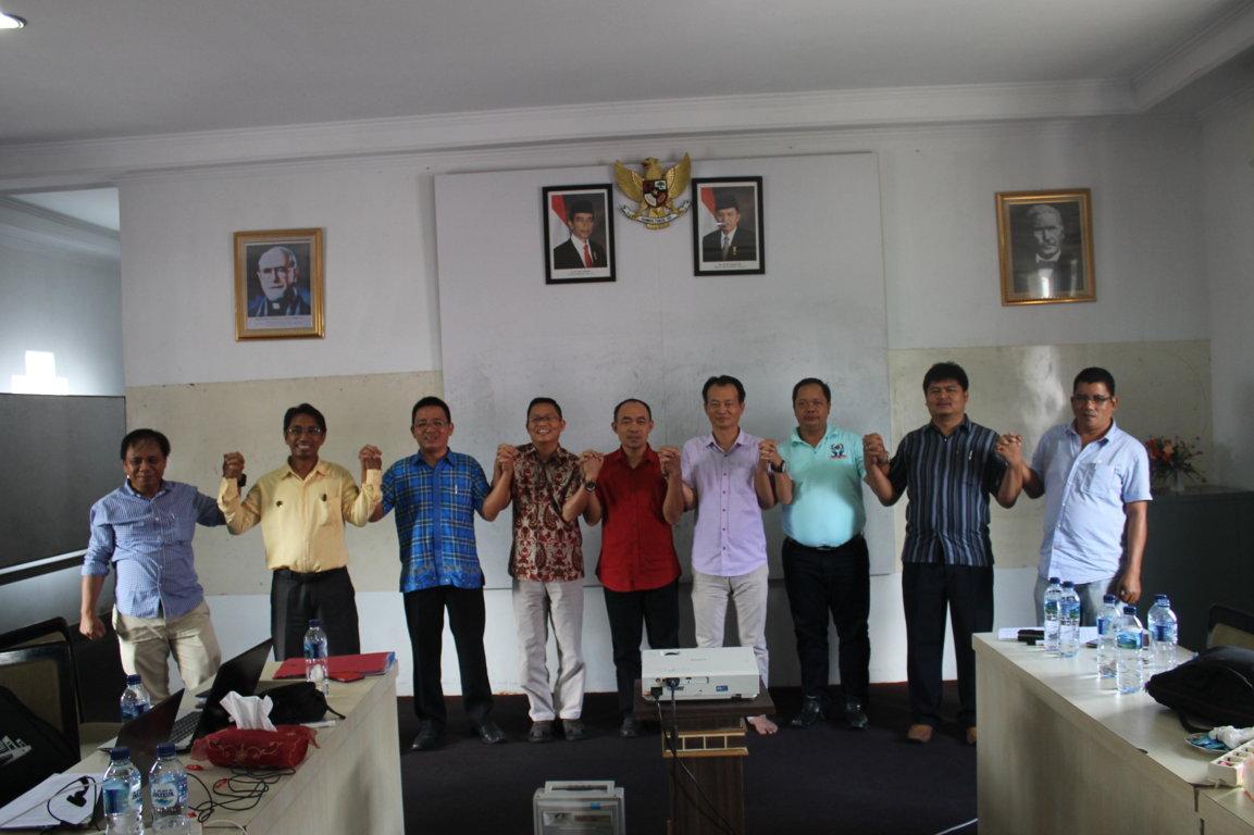 Rapat penentuan Wilayah Kerja & Operasional CU